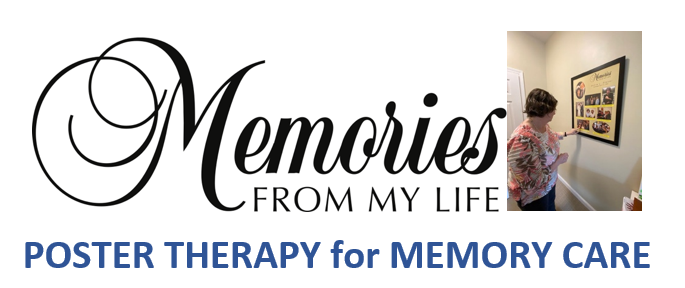 Memories from my life poster therapy for memory care