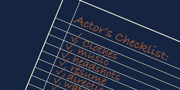 Preparing For Your Best Audition: An Actor's Checklist Cover