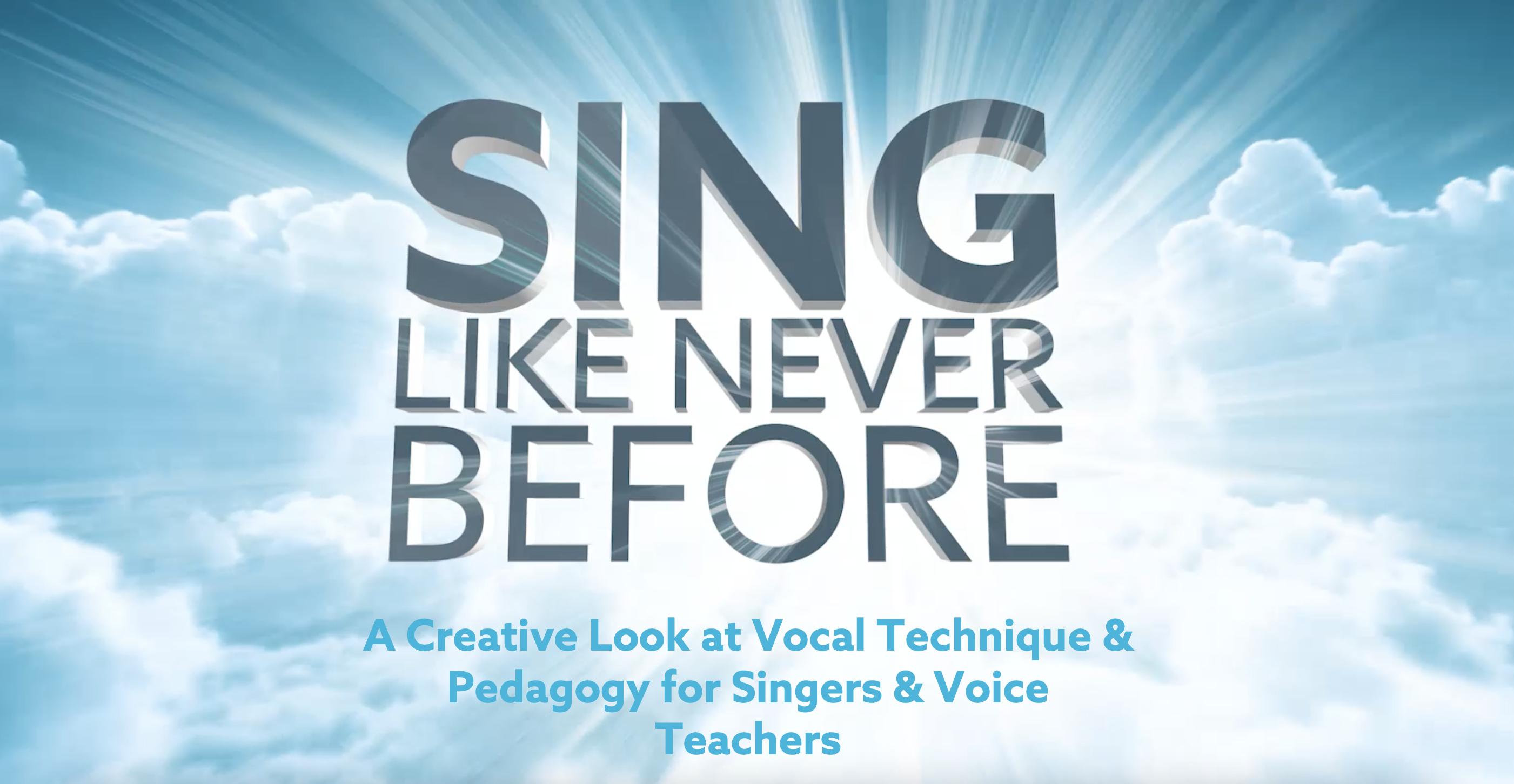 National Association of Teachers of Singing Reviews Sing Like Never Before hero
